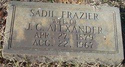 Sadie <i>Frazier</i> Alexander