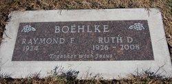 Ruth Jane <i>Davis</i> Boehlke