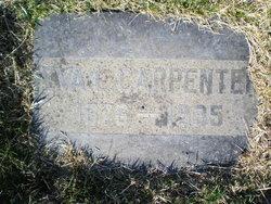 Eva Louisa <i>Goodwin</i> Carpenter