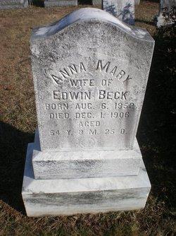 Anna Mary <i>Gross</i> Beck