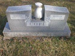 Martha <i>Ebert</i> Cope