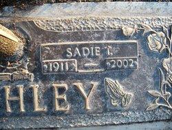 Sadie R <i>Tucker</i> Atchley