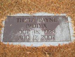 Theta Payne Biddix