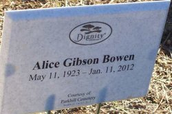 Alice Gibson <i>Grimes</i> Bowen
