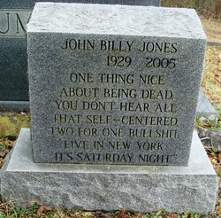 John Billy Jones