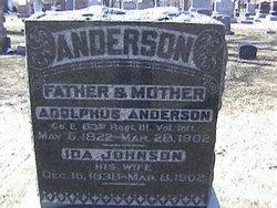 Ida <i>Johnson</i> Anderson