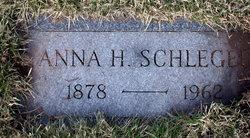Anna H. <i>Huntzinger</i> Schlegel