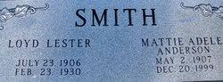 Mattie Adele <i>Anderson</i> Smith