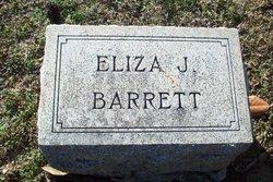 Eliza Jane <i>Henry</i> Barrett