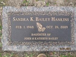 Sandra K <i>Bailey</i> Hankins
