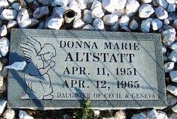 Donna Marie Altstatt