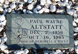 Paul Wayne Altstatt