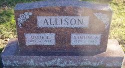 Ollie Lucille <i>Curtis</i> Allison