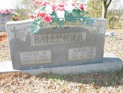 Marvin B Ballinger