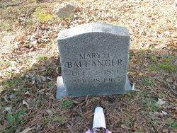 Mary I Ballinger
