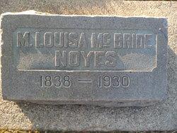M Louisa <i>McBride</i> Noyes