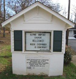 Alpine Baptist Church Cemetery