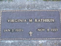 Virginia May <i>Beaty</i> Rathbun
