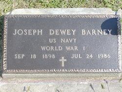 Joseph Dewey Barney