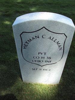 Heyman Carl Allman