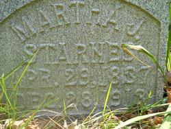 Martha Jane <i>Mitchell</i> Starnes
