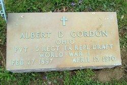 Albert D. Gordon