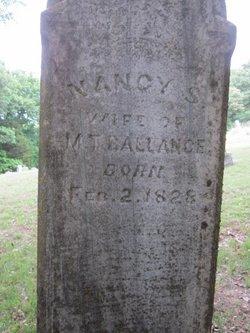 Nancy Sue <i>Walton</i> Meador Ballance