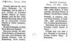 Jerry John Brdecka