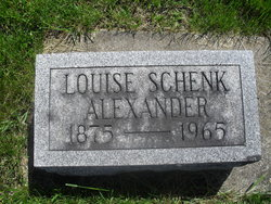 Louise <i>Schenk</i> Alexander