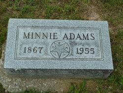 Mary Hannah Minnie <i>Lilly</i> Adams
