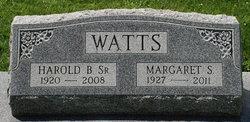 Margaret <i>Sparks</i> Watts