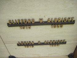 Clifford W Albright