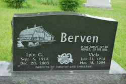 Lyle George Berven