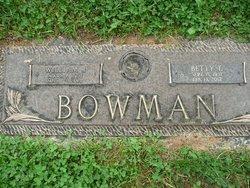 William Joseph Bowman, Sr