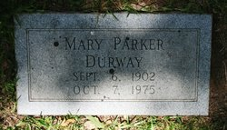 Mary Violet <i>Parker</i> Durway