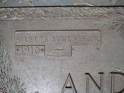 Aylette Buckner Buck Anderson, Jr