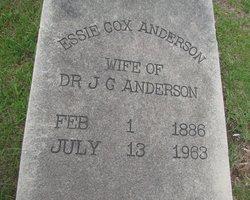 Essie <i>Cox</i> Anderson