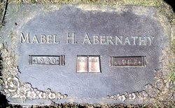 Mabel M. <i>Holsinger</i> Abernathy