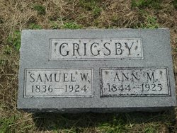 Samuel W Grigsby