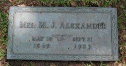 Mary Jane <i>Strunk</i> Alexander