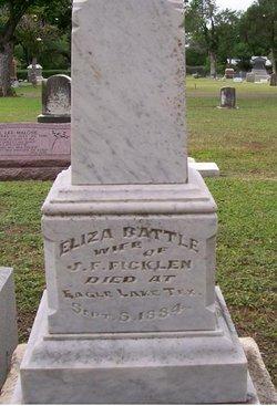 Eliza Walker <i>Battle</i> Ficklen