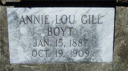 Annie Lou <i>Gill</i> Boyt