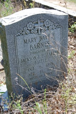 Mary <i>Battle</i> Barnes