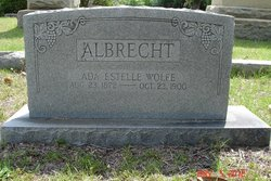 Ada Estelle <i>Wolfe</i> Albrecht