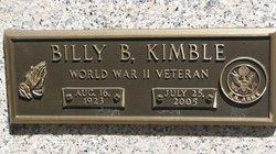 Billy B Kimble