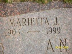 Marietta <i>Jacoby</i> Anderson