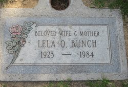 Lela O Bunch