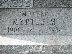 Myrtle M Yost