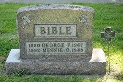 Minnie <i>Buker</i> Bible