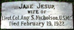 Jane Findlay <i>Jesup</i> Nicholson